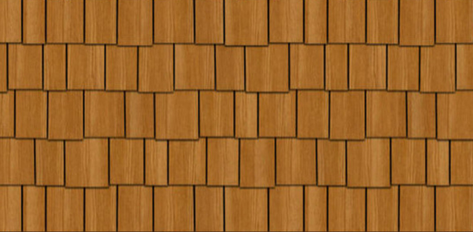 Staggered Cedar Shake Siding 2