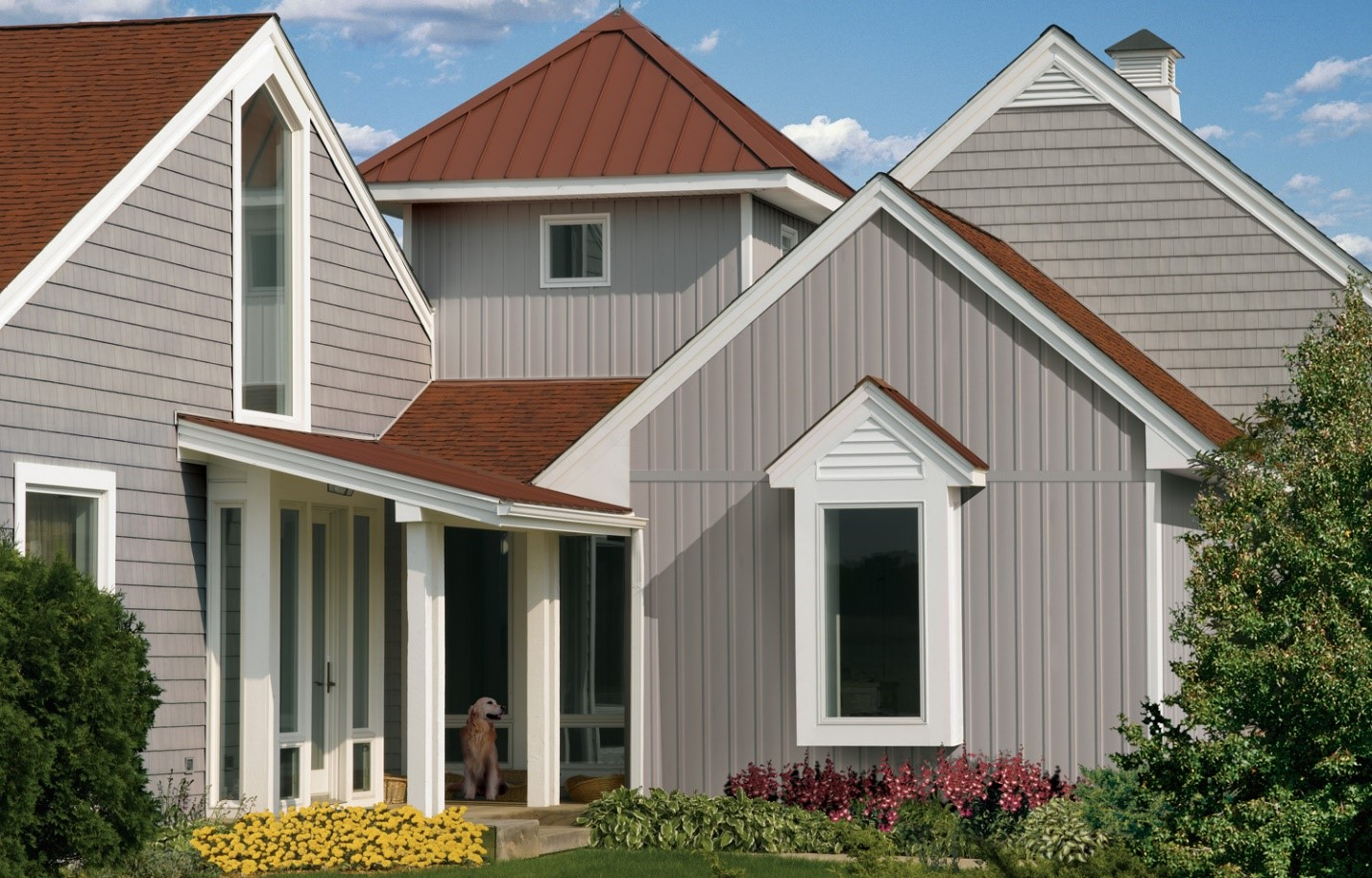 9 Vertical House Siding Design Ideas | Allura USA on House Siding Ideas  id=38683