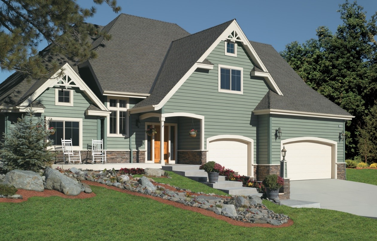 42 stunning exterior home designs for Design siding on my house