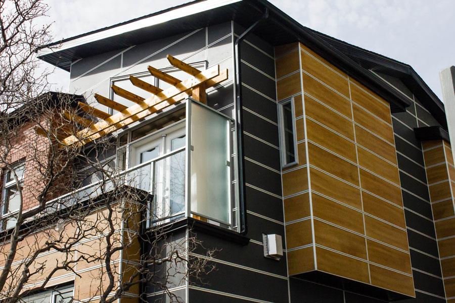 Faux cedar siding design options for Architectural wood siding