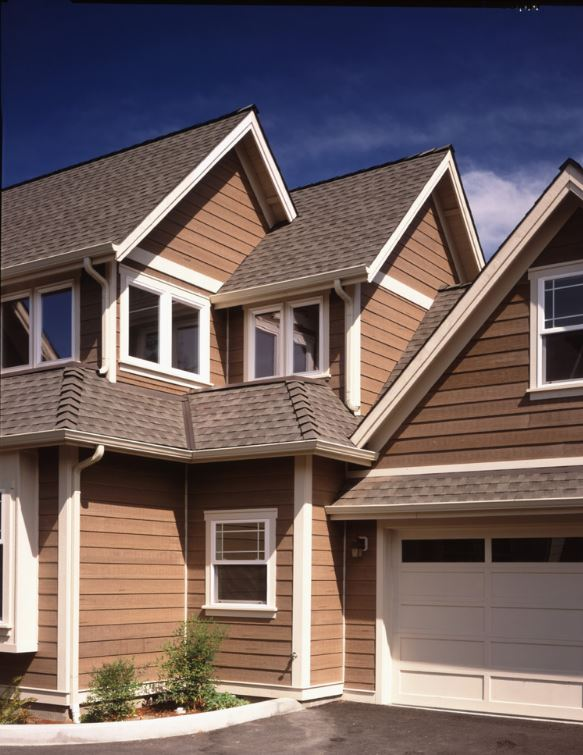 House Siding Doesn T Have To Be Bold Or Bright In Color Attractive Sometimes A Neutral Tone That Suggests Natural Wood The Viewer Can