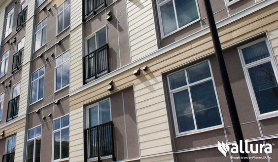 50 house siding ideas allura usa for Allure cement siding
