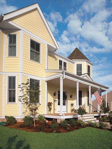 50 house siding ideas allura usa for Beach house siding ideas