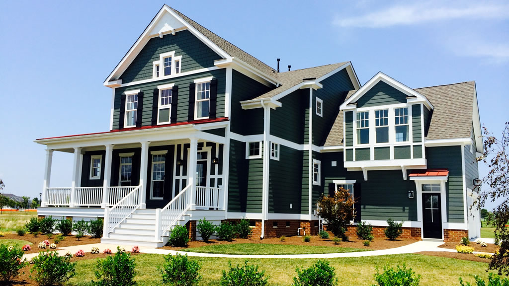 7 Beautiful Green House Siding Ideas | Allura USA on House Siding Ideas  id=67145