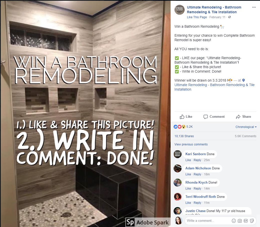 Miraculous 7 Social Media Post Ideas For Remodelers Download Free Architecture Designs Lukepmadebymaigaardcom