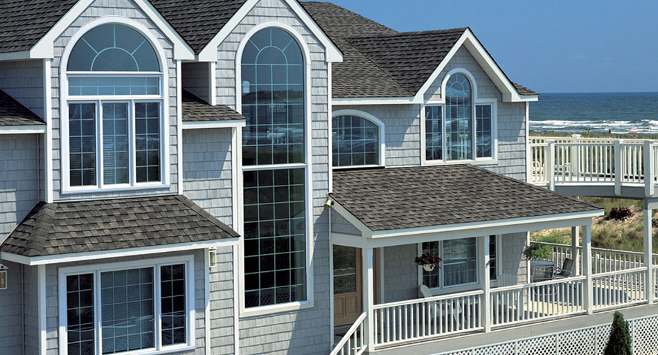 Sterling grey siding