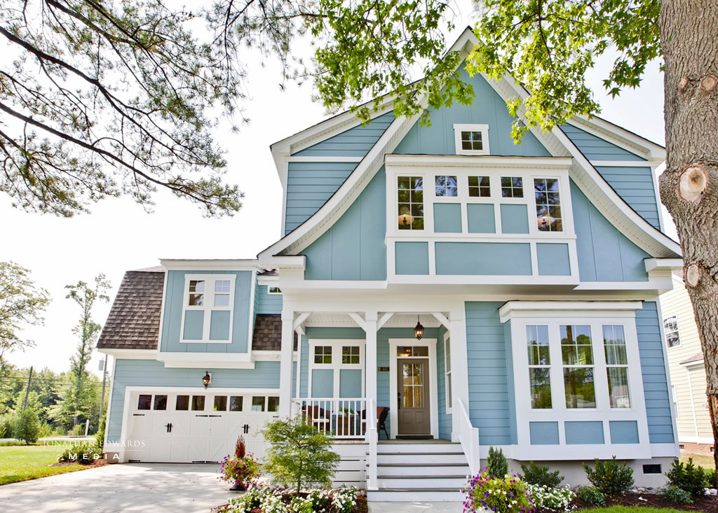 7 Blue House Siding Ideas Allura Usa