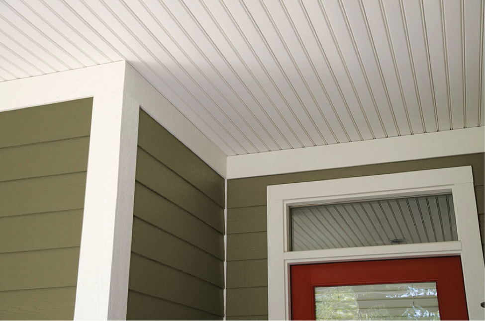 A Better Alternative To Wood Beadboard For Exterior Porch Ceilings