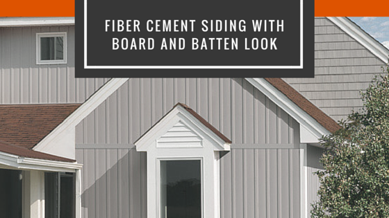 Board Batten Fiber Cement Siding