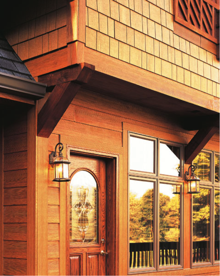 Fiber cement siding that looks like wood for Siding that looks like wood shingles