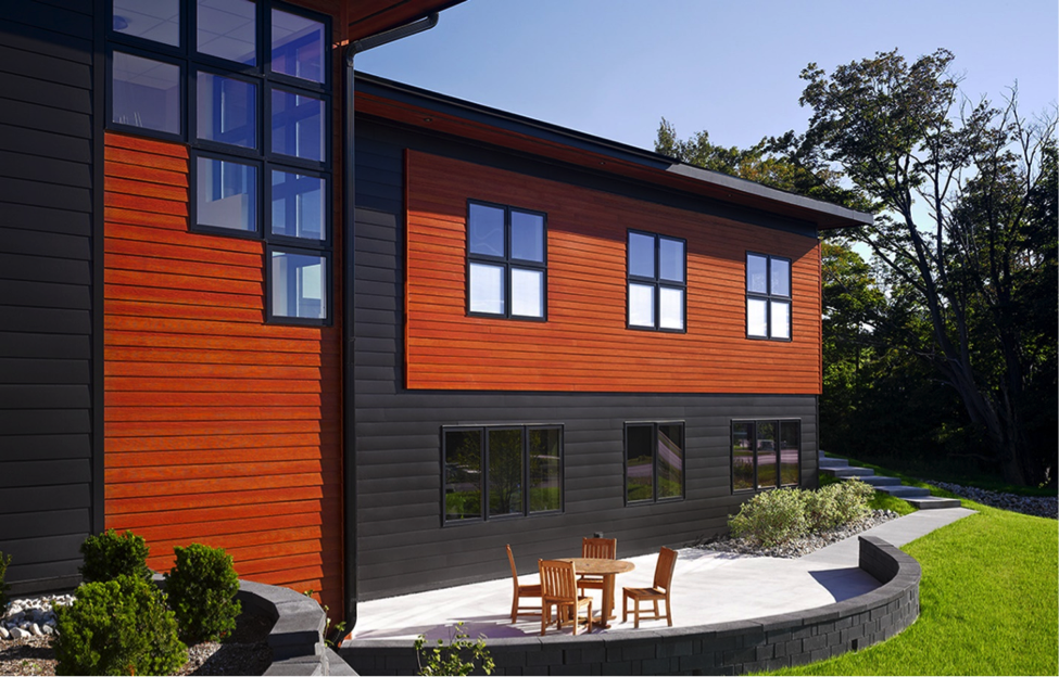 Fiber cement siding that looks like wood for Modern fiber cement siding