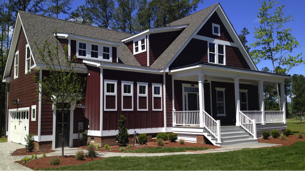 Fiber cement siding that looks like wood for Architectural wood siding