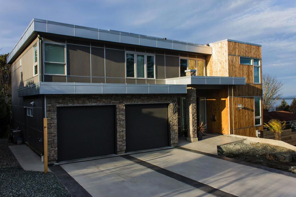 Cement Board House : Decorative cement board ideas