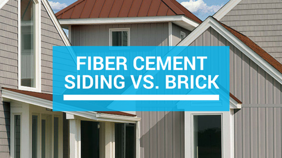 Brick Cement Board : Fiber cement siding vs brick