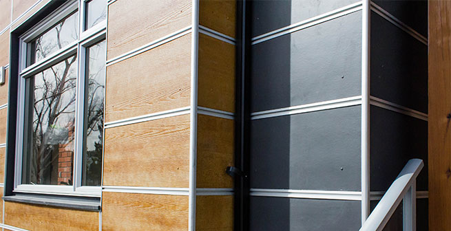 6 wood siding alternatives for Stucco substitute