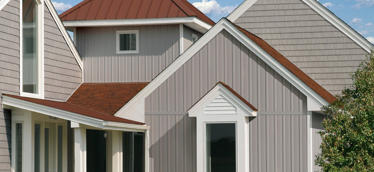6 wood siding alternatives for Vertical siding options